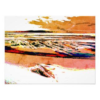 """Druk van het Canvas van de het """"abstracte canvas"""" Foto Afdruk"""
