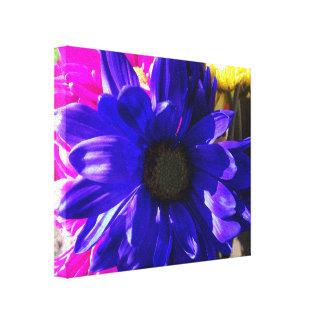 Druk van het Canvas van Feelin de Blauwe Stretched Canvas Print
