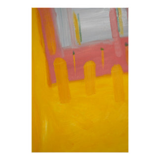 Druk van het Poster van de Kunst van het gel de Fi
