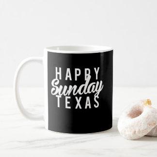 Druk van Texas van de Zondag van Nice de Gelukkige Koffiemok