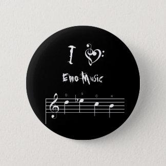 dsch, treblebassheart, I, Muziek Emo Ronde Button 5,7 Cm