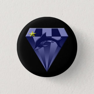 DSX: De bevelhebber van de ster Ronde Button 3,2 Cm