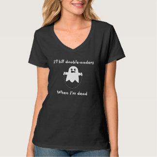 Dubbel-Unders zijn gemakkelijk, als u een spook T Shirt