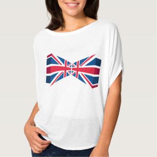 Dubbel Union Jack, Britse vlag in 3D Tshirts