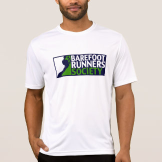 Dubbel Voor/AchterLogo+URL TechShirt T Shirt