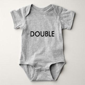 Dubbele Bodysuit van Twinset van het Probleem