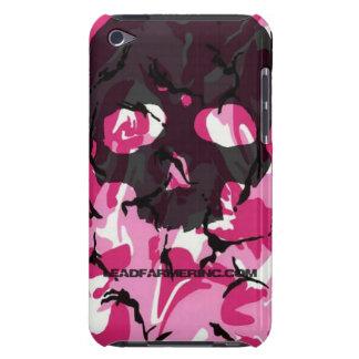 Dubbele Roze camo van de Schedel van de Kraan LFI iPod Touch Hoesje