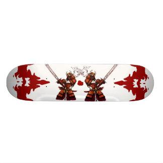 Dubbele Samoeraien Skate Deck