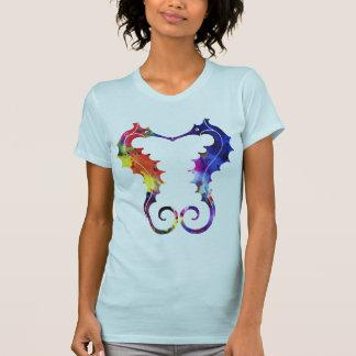 Dubbele Seahorses | Liefde & Harmonie T Shirt
