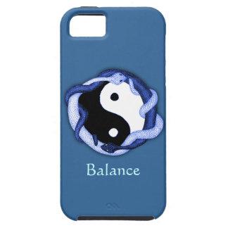 Dubbele serpenten (Blauw) Tough iPhone 5 Hoesje