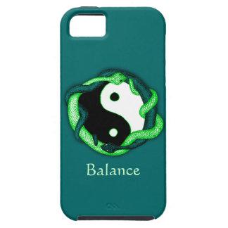 Dubbele serpenten (Groen) Tough iPhone 5 Hoesje