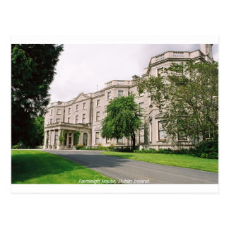 Dublin Ierland, Farmleigh Huis, het Park van Briefkaart