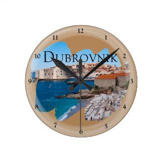 Dubrovnik met een Uitzicht Ronde Klok