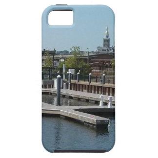 Dubuque, de Haven van het Ijs van Iowa, de Rivier Tough iPhone 5 Hoesje