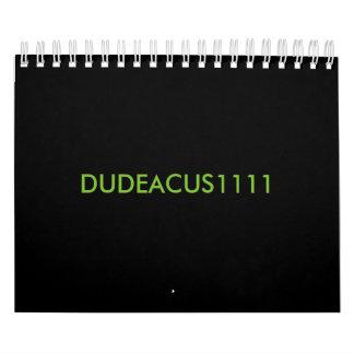 DUDEACUS1111 kalender