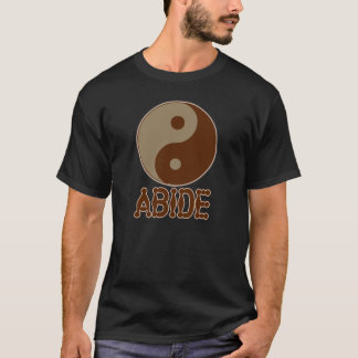 Dudeist verblijft T-shirt