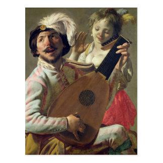 Duet, 1628 briefkaart