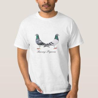 Dueto palomas mensejeras t shirt