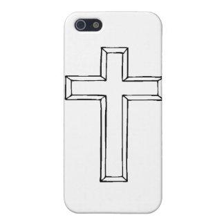 Duidelijk Cross.gif iPhone 5 Case