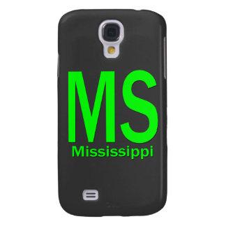 Duidelijke groen van lidstaten de Mississippi Galaxy S4 Hoesje
