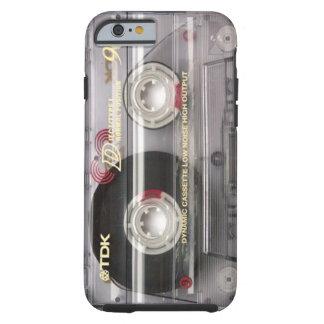 Duidelijke iPhone 6 van de Band van de cassette Tough iPhone 6 Hoesje