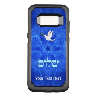 Duif - Shalom OtterBox Commuter Samsung Galaxy S8 Hoesje