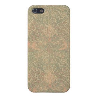 Duif van William Morris en nam Patroon toe iPhone 5 Case
