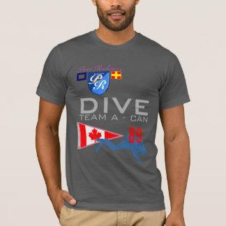 Duik Team een Duik Canada Nummer 89 KAN markeren T Shirt