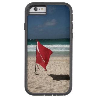 Duik Vlag op het Strand Tough Xtreme iPhone 6 Hoesje