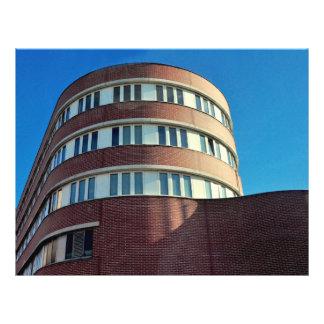 Duitse architectuur folder ontwerp