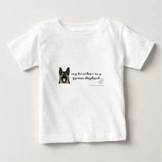 Duitse herder baby t shirts