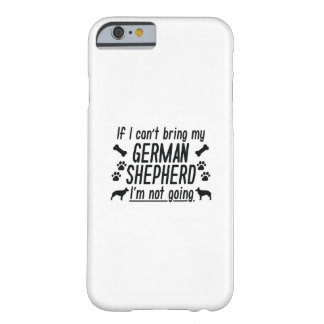 Duitse herder barely there iPhone 6 hoesje