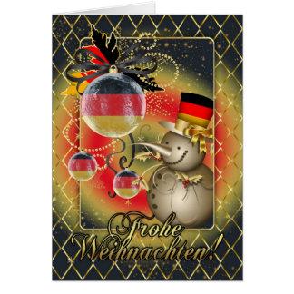 Duitse Kerstkaart - Frohe Weihnachten Briefkaarten 0