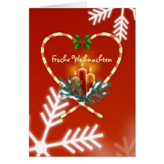 Duitse Kerstmis - de kaarsen van het snoepriet, Briefkaarten 0