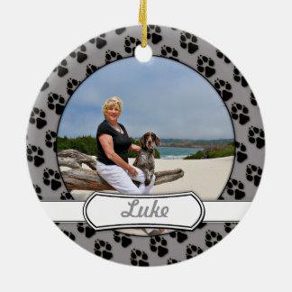 Duitse Kortharige Wijzer - Luke - Riley Rond Keramisch Ornament
