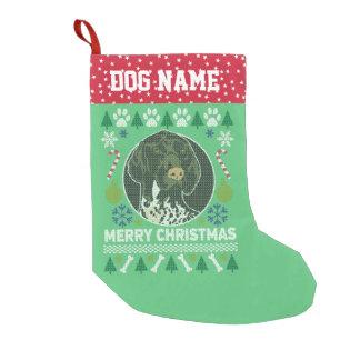 Duitse Lelijke Kerstmis van de Kortharige Hond van Kleine Kerstsok
