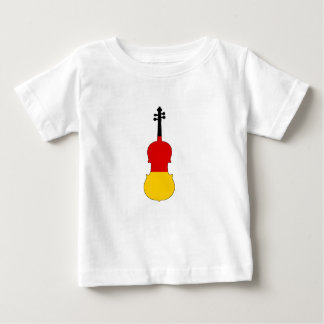 Duitse Vlag - Altviool Baby T Shirts