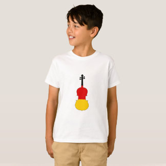 Duitse Vlag - Altviool T Shirt