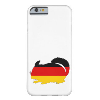 Duitse Vlag - Chinchilla Barely There iPhone 6 Hoesje