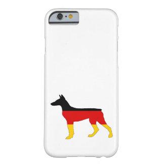 Duitse Vlag - Dobermann Pinscher Barely There iPhone 6 Hoesje