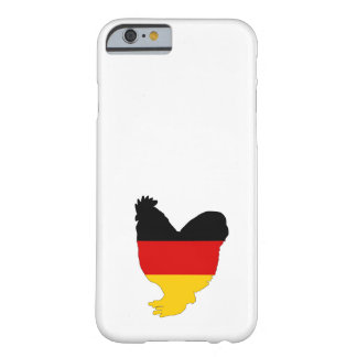 Duitse Vlag - Haan Barely There iPhone 6 Hoesje