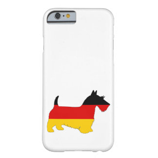 Duitse Vlag - Schotse terriër Barely There iPhone 6 Hoesje