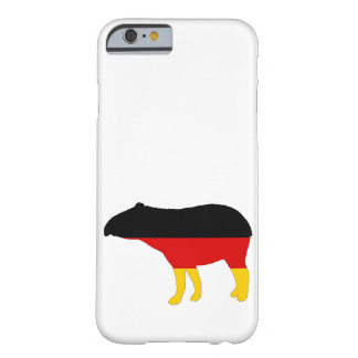 Duitse Vlag - Tapir Barely There iPhone 6 Hoesje