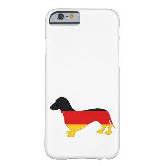 Duitse Vlag - Tekkel Barely There iPhone 6 Hoesje