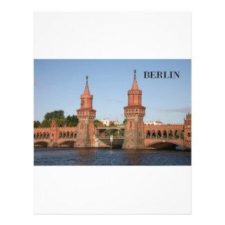 Duitsland Berlijn Oberbaumbrucke (St.K.) Fullcolor Folder