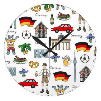 Duitsland | het Patroon van Symbolen Grote Klok