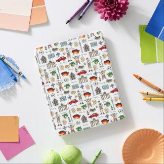 Duitsland | het Patroon van Symbolen iPad Cover