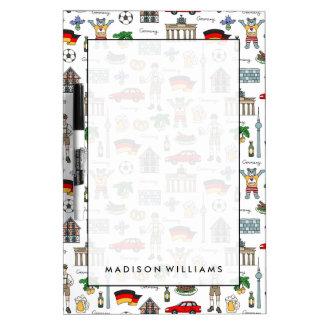 Duitsland | het Patroon van Symbolen Whiteboard
