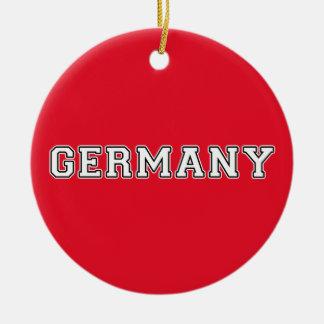 Duitsland Rond Keramisch Ornament