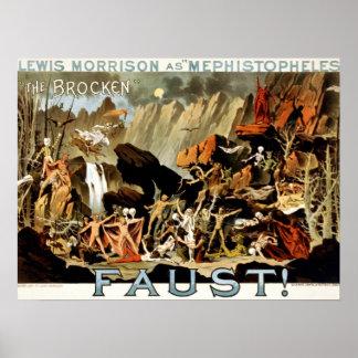 Duivels en Faust Poster